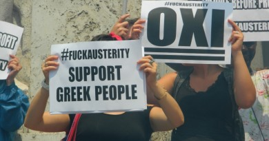 Greek Oxi Vote